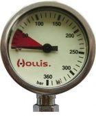 Манометр Hollis Brass SPG 360 бар