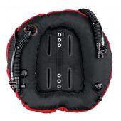 Крыло двухкамерное Hollis C60 LX Dual - Двух инфляторный бублик с внутренним бандажным ретрактором, 2 камеры по 27 л / 60 lbs, для мультибаллоных конфигураций, для cave и wreck погружений