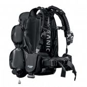Компенсатор плавучести JetPack - Два в одном - BCD и рюкзак для путешествий, 1 размер для всех, встроенная грузовая система, объем камеры 30 lbs, объем рюкзака 42 л