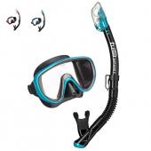 Комплект UCR-1625QB Black Series маска и трубка