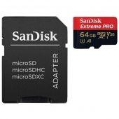 Карта памяти SanDisk MicroSDXC Extreme Pro 64GB