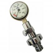 Манометр проверочный Apeks высокого давления DIN M25x2