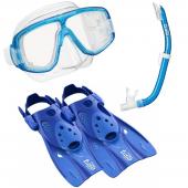 Комплект Platina UPR-0101 маска трубка ласты