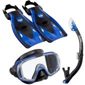 Комплект Visio Tri-Ex UP-3521QB ласты маска трубка