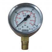 Манометр зарядного вентиля Bauer 0-400 бар