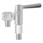 Клапан зарядный Bauer 86327-F03 с поворотной втулкой рычажный
