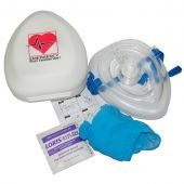 Карманная маска для ИВЛ PADI Pocket Mask